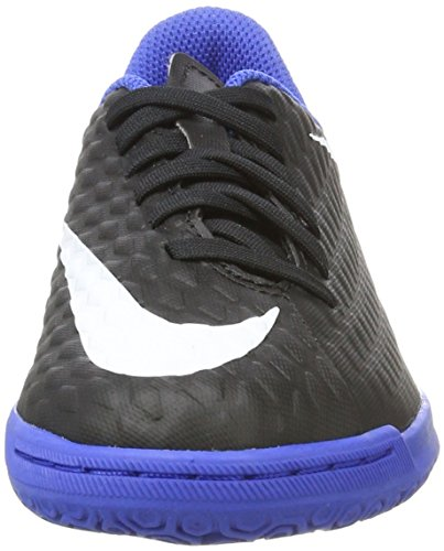 Nike Hypervenomx Phade Iii Ic, Chaussures de Football Mixte Enfant Noir (Black/Black)