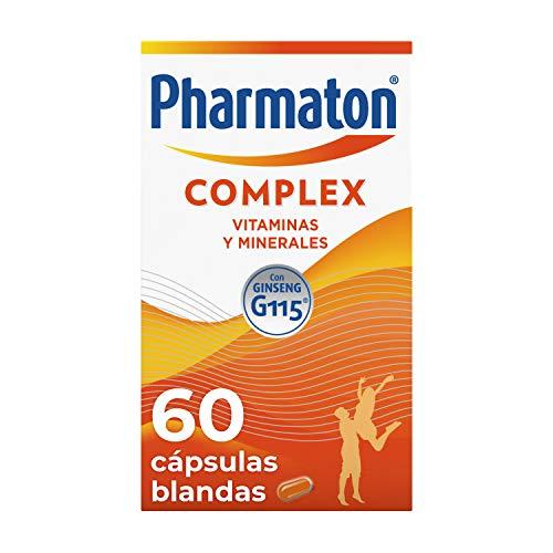 Pharmaton Complex, multivitamínico con Ginseng G115, Ayuda a