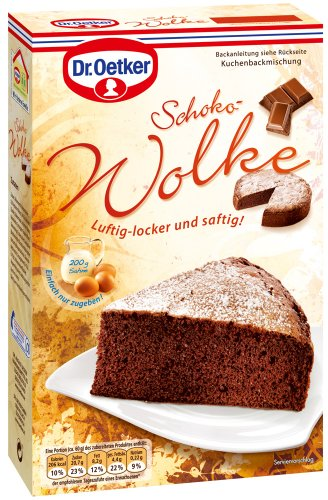 Dr.Oetker Schoko-Wolke, 4er Pack (4 x 455 g)