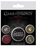 Game of Thrones - Button Badge Set