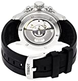 Tissot Herren-Armbanduhr Chronograph Schwarz Automatik Datum T0554271705700 - 2