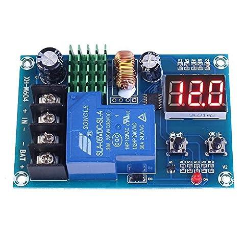WINGONEER Commutateur de charge de batterie Contrôle de protection DC 6V-60V Carte de protection de batterie pour batterie au plomb acide et batterie au lithium