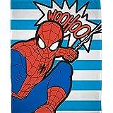 Ultimate Spiderman 'Abstrakt' Fleece Decke–Großer Print Design