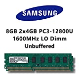 Samsung 8GB Dual-Channel Kit DDR3 1600MHz LO Dimm Computer PC