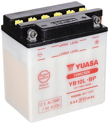 YUASA - YB10L-BP BATTERIA PER MOTO - FORNITA SENZA ACIDO