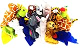 #2: 5 Pcs Random Animal Hand Puppets Soft Toy Plush Toy Figure Pet Animals Soft Toys 15-25 cms Best Quality