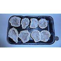 Bergkristall Drusen, Quarz Geode, Nußgeode im SET, 329 g, glänzende Kristalle, sehr gut geeignet zur Harmonisierung... preisvergleich bei billige-tabletten.eu