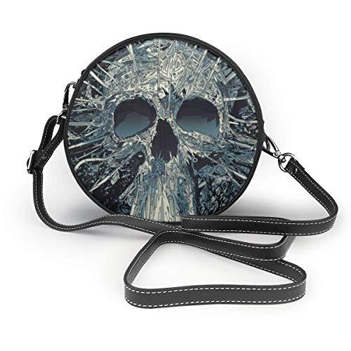 Borse a tracolla Small Crossbody Bag Cellphone Purse Wallet for Women Roomy Shoulder Bag - Cool Hippy Sugar Skulls Black