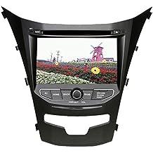"roverone 7""Android 6.0Octa Core para Ssangyong New Actyon Korando 2014Autoradio coche reproductor de DVD con GPS navegación Radio estéreo Bluetooth Espejo Enlace pantalla táctil"