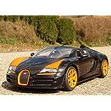 """RC Bugatti Veyron Grand-Sport mit LICHT 31cm """"Ferngesteuert 2,4GHz"""""""