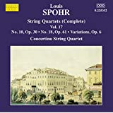 Spohr: String Quartets, Vol. 17