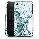DeinDesign Apple iPhone 3Gs Coque Étui Housse Océan marbré