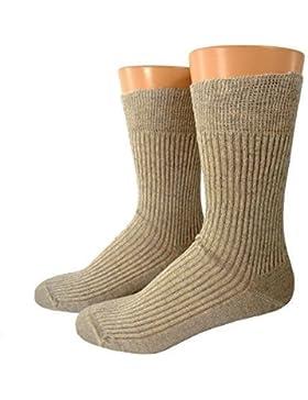 Herren Bio Socken Leinen