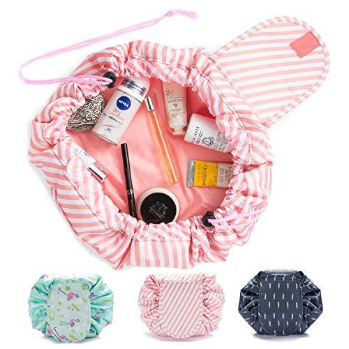 Goods & Gadgets Kosmetiktasche, Kosmetikbeutel Quick Make-Up Beutel Schmink-Tasche Kulturtasche mit Kordelzug