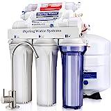 Sistema de filtrado de agua iSpring 75GPD de ósmosis inversa alcalino mineral...