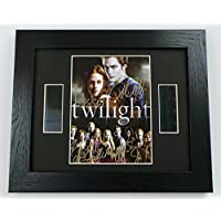 Twilight Cast Signed + Original 35mm Film Footage Framed