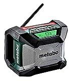 Metabo 600777850 Radio de chantier sans fil R 12-18 BT SOLO