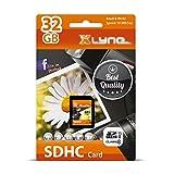 XLYNE SDHC-Speicherkarte │32 GB│Class 10│SD-Karte, Flash Memory│Ideal für Fotos/Videos/Audio/Smartphones