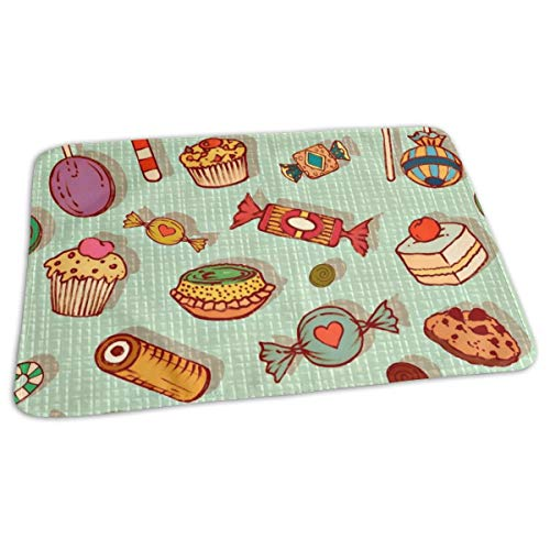 Granny's Charm Baby Portable Reusable Changing Pad Mat 19.7x 27.5 inch -