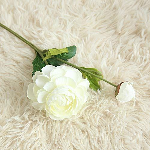 Yazidan Gefälschte Blumen Orchidee Blumenhochzeitsstrauß Braut Hydrangea Exquisite Dekor Rosen Blüte künstliche Seide echte Blumen für Wohnkultur, Parteien, Hochzeiten, Büros, Restaurants
