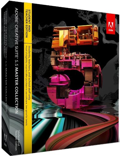 Adobe Creative Suite 5.5 Master Collection - STUDENT AND TEACHER EDITION - - 7 Suite Creative