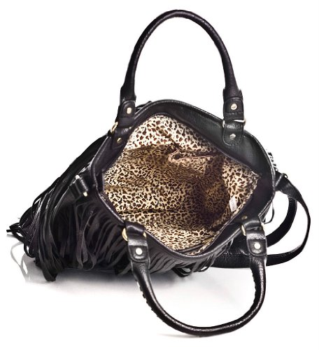 Big Handbag Shop, Borsa a spalla donna One Black