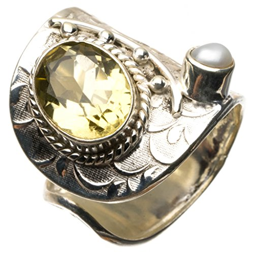 stargemstm-natural-citrine-and-river-pearl-925-sterling-silver-ring-uk-size-l-1-2