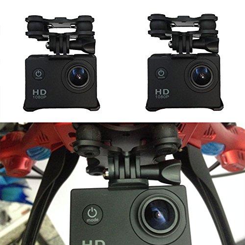 Cewaal holder macchina fotografica di sport staffa telaio con gimble del giunto cardanico per syma x8c x8w x8g x8 rc quadcopter drone