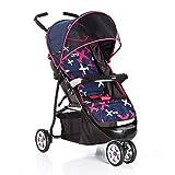 DS-Landau Chariot bébé Pliant de Tricycle d'enfant de Chariot de bébé && ( Color : Red )