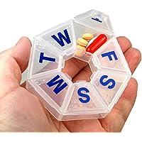 EZY Dosis 7Tage 7-sided Pille Reminder, Größe Medium (Pack von 2) preisvergleich bei billige-tabletten.eu
