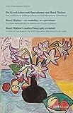 Die Krankheiten und Operationen von Henri Matisse: Eine medizinische Fallbesprechnung und kunsthistorische Abhandlung