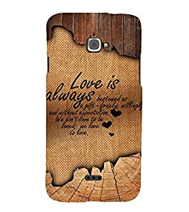 Fuson Designer Back Case Cover for InFocus M350 ( Love Quotes Inspiration Emotion Care Fun Funny )