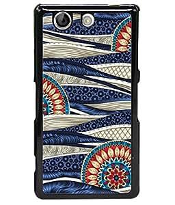 Fuson Designer Back Case Cover for Sony Xperia Z4 Compact :: Sony Xperia Z4 Mini (floral design Leo zodiac sign )
