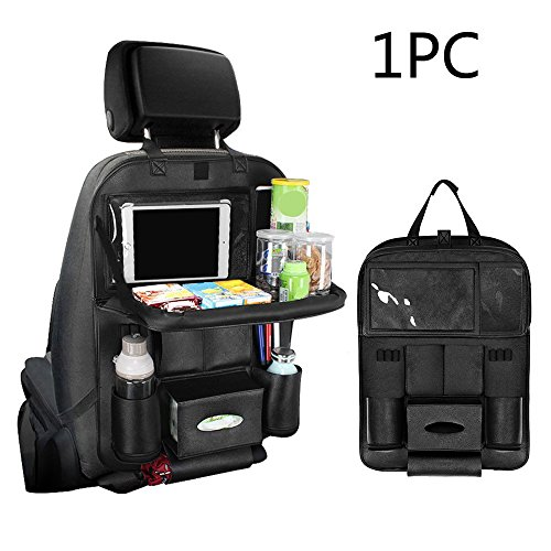 pushingbest-car-seat-organizer-screen-touchable-ipad-mini-holder-multi-pocket-car-seat-storage-bag-c
