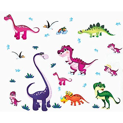 dinosauri-casa-uccelli-adesivo-da-parete-decorazioni-in-pvc-vinile-carta-da-parati-per-camera-da-let