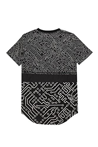 Sixth June Herren Oberteile / T-Shirt Cyber Schwarz