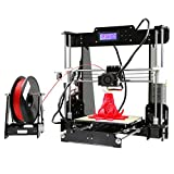 oHholly A8 3D Drucker Kit Selbstbauen LCD Display ABS PLA Filament Acryl Stampante 3D Drucker DIY 3D Printer kit