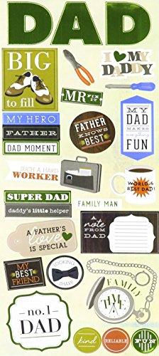Unbekannt Me & My Big Ideas mambisticks, Aufkleber Dad -