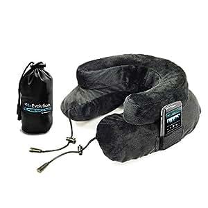 Cabeau ™ Air Evolution oreiller de voyage gonflable–Le meilleur Oreiller de voyage pour un maximum de confort et de portabilité, gris (Gris) - AE0234