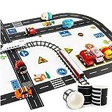 4 Rolls Railway Road Washi Nastro Nastri Circolazione Stradale Decorativi Nastro Adesivo Nastri Adesivi Nastro Strada Autostrada Per Modellini Di Auto