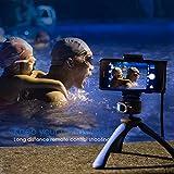 Fotopro Handy Stativ Tripod Sets mit Handy Adapter, Bluetooth Fernauslöser für Kamera, Gopro, iPone, Samsung und andere Smartphones - 9