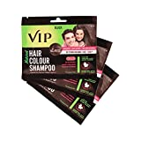 Best Color Shampoos - Vcare VIP Hair Colour Shampoo 3in1(pack of 3) Review