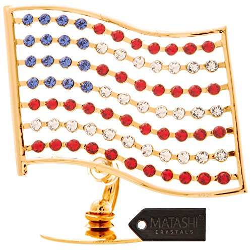 24k-gold-plated-crystal-studded-american-flag-ornament-by-matashi