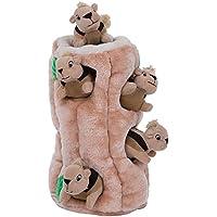 Outward Hound Kyjen 31004 Hide A Squirrel Plüsch Hundespielzeug 7-teilig, Größe XXXL, Braun