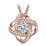 Best Amazon Collection Friends Circle Necklaces - Sirila Satellite Series 925 Sterling Silver Women Necklace Review