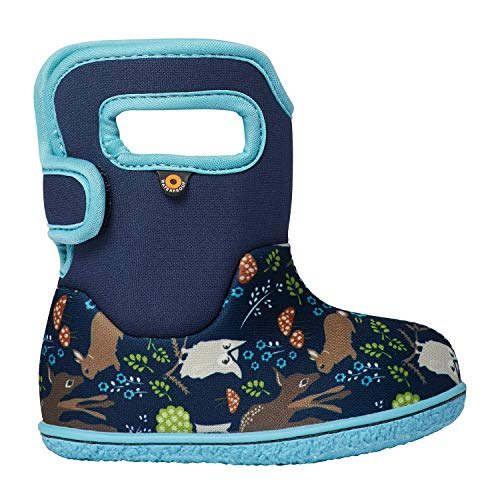 Bogs Baby Girls Waterproof Insulated Crib Shoe