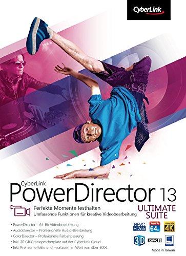 CyberLink PowerDirector 13 Ultimate Suite [Download]