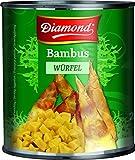 Diamond, Conserva de cataña de agua (bambú en dados) - 6 de 2950 gr. (Total 17700 gr.)