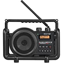 PerfectPro DAB+BOX 2, Baustellenradio, DAB+, UKW, Bluetooth, staub- u. stoßfest