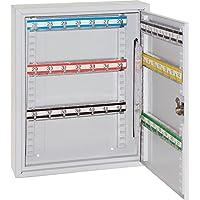 Rieffel VT-SK 2042 Gris Caja portallaves y Organizador - Armario para Llaves (Gris, 42 Colgador(ES), 2 Llaves, 270 x 80 x 350 mm)
